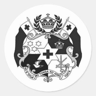 Otua Mo Tonga Productionz Round Sticker