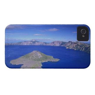 OU, lac NP crater, île de magicien et cratère Coque iPhone 4
