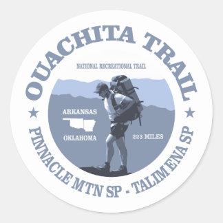 Ouachita Trail Classic Round Sticker