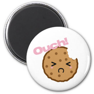 """""""Ouch!"""" says the Kawaii Cookie Magnet"""