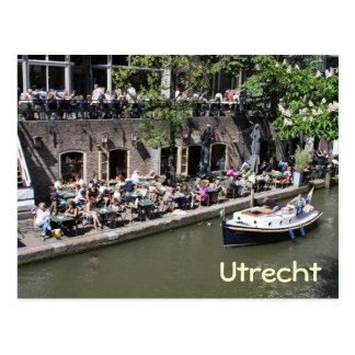 Oude Gracht Postcard