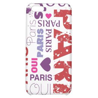 Oui paris je t aime iphone case iPhone 5C cases