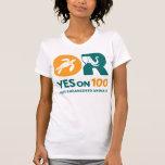 OUI sur 100 ! T-shirt - le QG des femmes