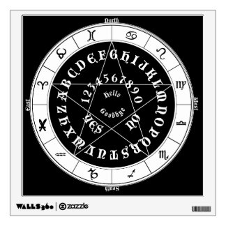 """Ouija Witch""  Wall Decal  by SagittarianMoon"