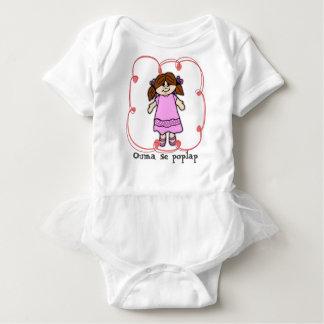 Ouma se poplap baby bodysuit