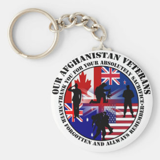 Our Afghanistan of veteran 5 nation Keychain
