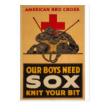 Our boys need sox Red Cross World War 2