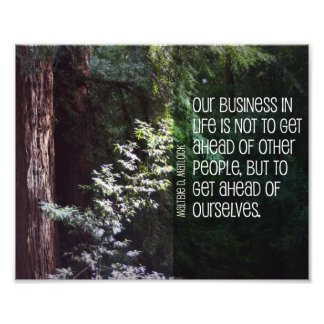 Our Business In Life Photo Print