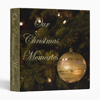 Our Christmas Memories Album 3 Ring Binders