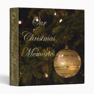 Our Christmas Memories Album Binders