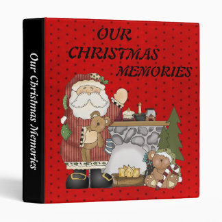 OUR CHRISTMAS, MEMORIES Binder