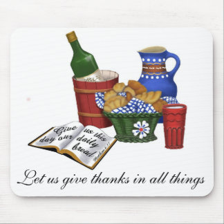 Our daily bread, Matthew 6:11 Mouse Pad