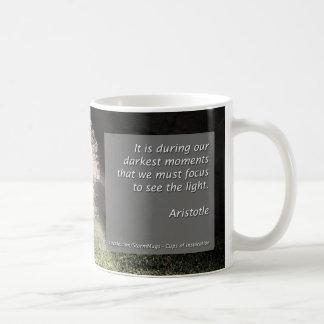Our darkest moments coffee mug