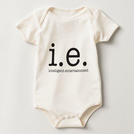Our distinctive logo baby bodysuit