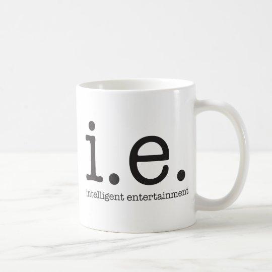 Our distinctive logo coffee mug