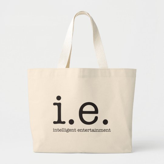 Our distinctive logo large tote bag
