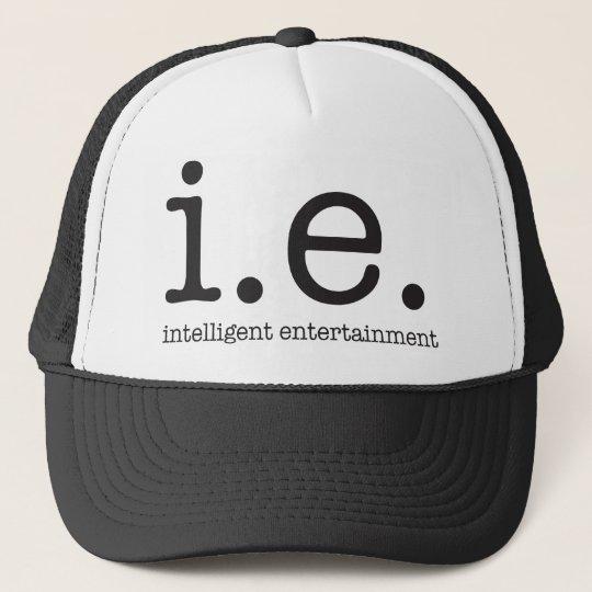 Our distinctive logo trucker hat