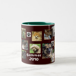 Our Dogs Summer 2010 Two-Tone Coffee Mug