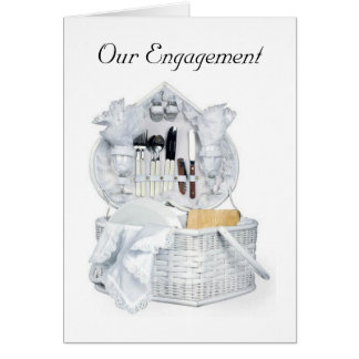 OUR ENGAGEMENT PARTY INVITATION