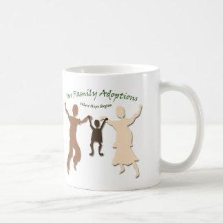 Our Family Adoptions Logo Coffee Mug