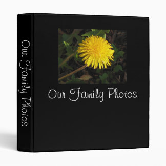 Our Family Photos Vinyl Binders
