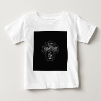 """Our Father"" ""Lord's Prayer"" ""Christian Gift Jesus Baby T-Shirt"