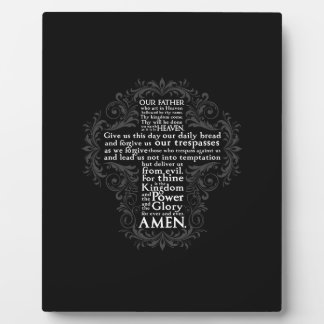 """Our Father"" ""Lord's Prayer"" ""Christian Gift Jesus Plaque"