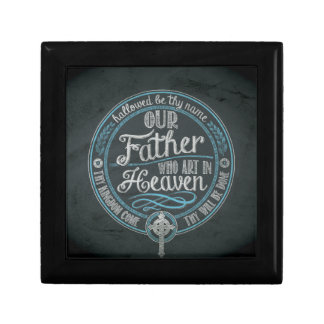 """""""Our Father Who Art In Heaven"""" Christian Gift God Gift Box"""