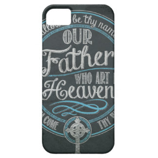 """Our Father Who Art In Heaven"" Christian Gift God iPhone 5 Cases"