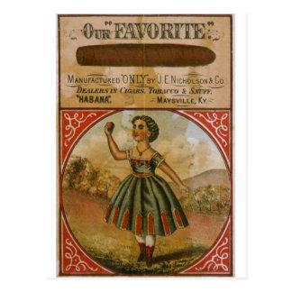 Our Favorite Vintage Tobacco Postcard