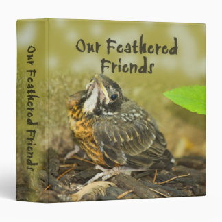 Our Feathered Friends 3 Ring Binder