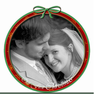 Our First Christmas Ornament Cut Outs