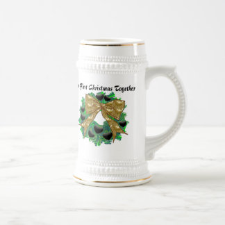 Our First Christmas Together Beer Stein