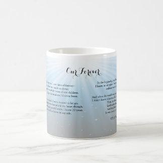 Our Forever ©2014 by Trinka Polite (morphing mug) Magic Mug