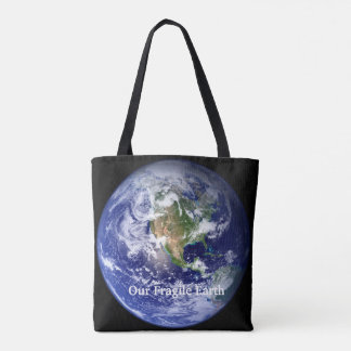Our Fragile Earth All-Over-Print Tote Bag, Medium