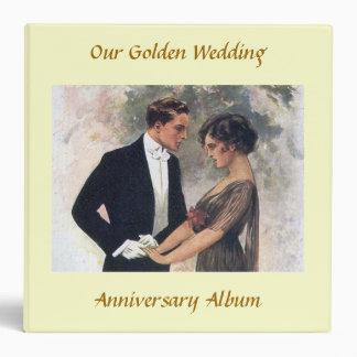 Our Golden Wedding Anniversary Album Binder