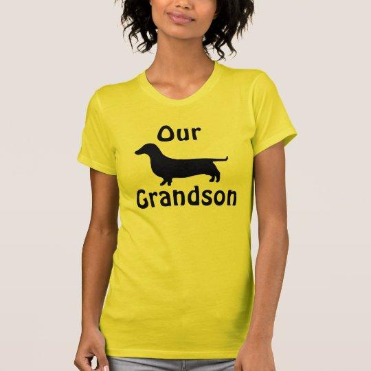 Our Grandson Dachshund Shirt