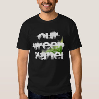 Our Green Planet Water T Black Shirts