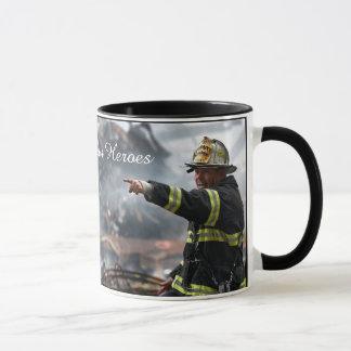 """Our Hero"" Mug, Firefighter  support Coffee Mug"