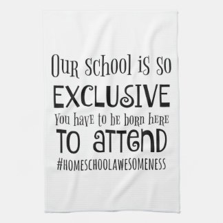 Our Home school kitchen towel