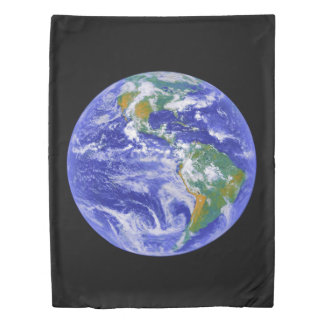 Our Home - The Earth Twin Duvet Cover
