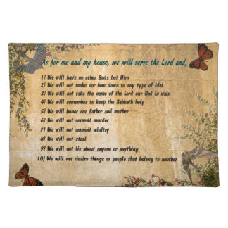 Our House Rules Placemat