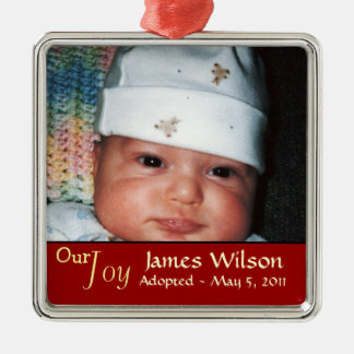Our Joy Adoption Ornament