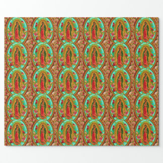 Our Lady Guadalupe Mexican Saint Virgin Mary Wrapping Paper