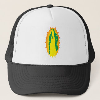 OUr Lady Guadalupe Modern Trucker Hat