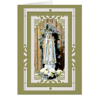 Our Lady of Fatima 100 Year Anniversary Card