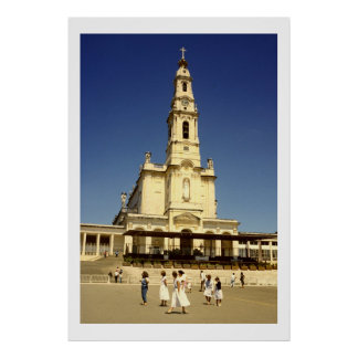 Our Lady of Fatima Church, Lisbon Portugal Poster