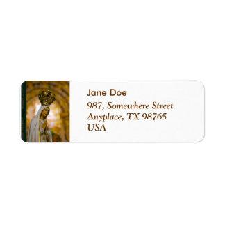 Our Lady of Fatima Return Address Label