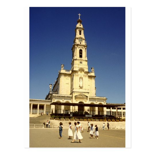 Our Lady of Fatima shrine, Lisbon Portugal Postcard