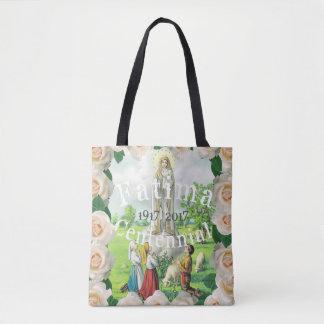 Our Lady Of Fatima Tote Bag